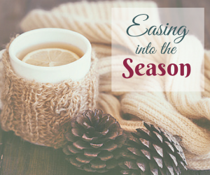 Easing into the Season